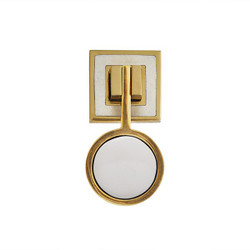 Worlds Away Milan Hardware - Brass/Resin/Cream