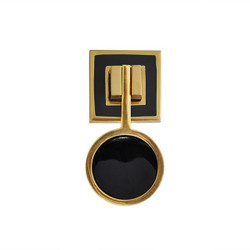 Worlds Away Milan Hardware - Brass/Resin/Black
