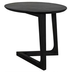 Noir Cantilever Table - Charcoal Black