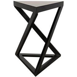 Noir Orpheo Side Table - Metal