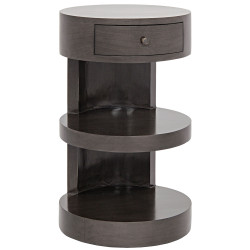 Noir Ryoko Side Table - Pale
