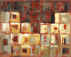 Art Classics Square Study in Red 2