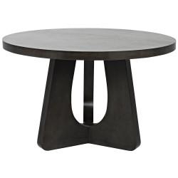 "Noir Nobuko Dining Table - 48"" - Pale"
