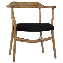 Noir Rey Chair - Natural