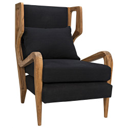 Noir Carol Chair - Teak