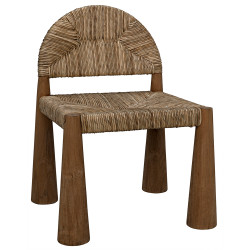 Noir Laredo Chair - Teak