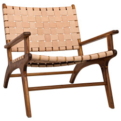Noir Kamara Arm Chair - Teak