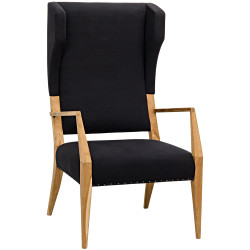 Noir Narciso Chair - Teak