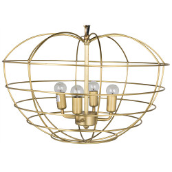Noir Mo Pendant - Antique Brass