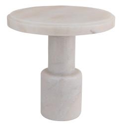 Noir Plato Cake Tray - White Stone