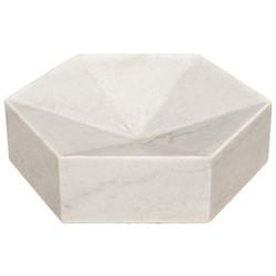 Noir Conda Tray - White Stone