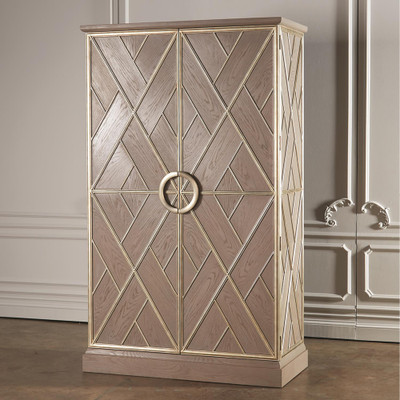 Global Views Amherst Collection Cabinet - Tall