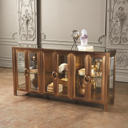 Global Views Apothecary Console Cabinet