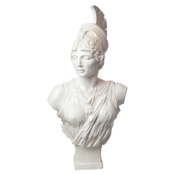 Global Views Athena Sculpture - Italian Ceramic
