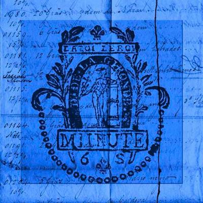 Art Classics Bright Stamp Blue