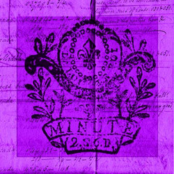 Art Classics Bright Stamp Purple