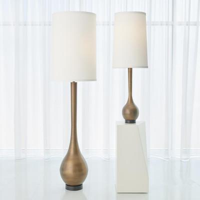 Global Views Bulb Floor Lamp - Light Bronze