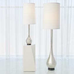 Global Views Bulb Floor Lamp - Nickel