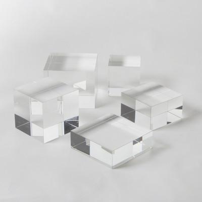 Global Views Crystal Cube Riser - Sm