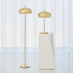 Global Views Dome Task Lamp - Brass