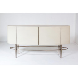 Global Views Ellipse Sideboard - Ivory