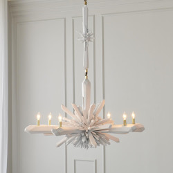 Global Views Facet Chandelier