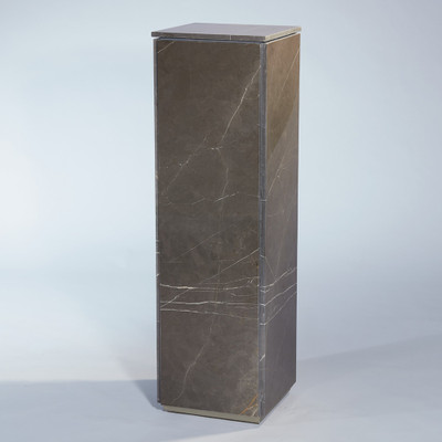 Global Views Graffito Marble Pedestal