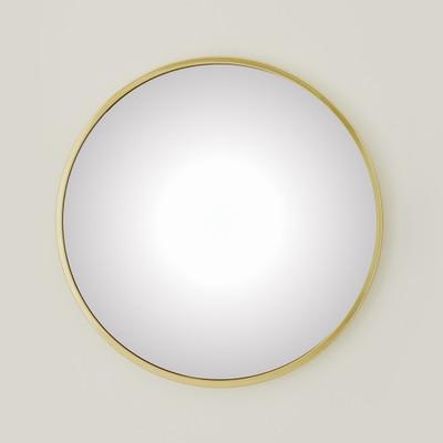 Global Views Hoop Convex Mirror - Brass - Med