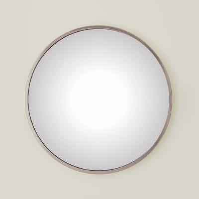 Global Views Hoop Convex Mirror - Nickel - Lg