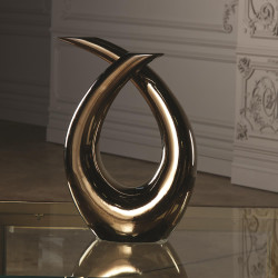 Global Views Loop Sculpture - Bronze