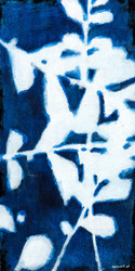 Art Classics White on Indigo I