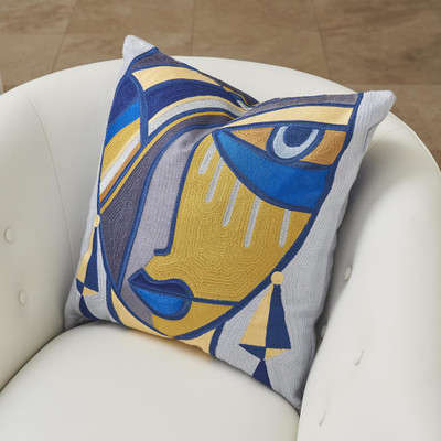 Global Views Maya Pillow