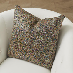 Global Views Multi Beaded Pillow - Gold
