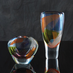Global Views Rainbow Vase - Lg