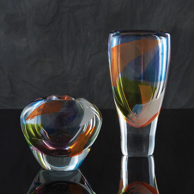 Global Views Rainbow Vase - Sm