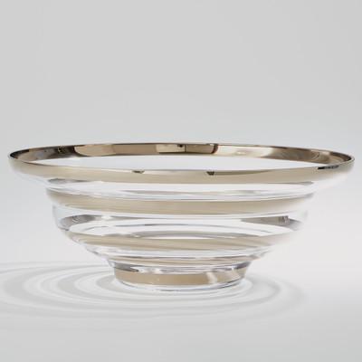Global Views Saturn Bowl - Platinum