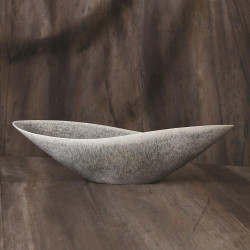 Global Views Sexy Bowl - Grey Reactive