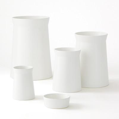 Global Views Soft Curve Vase - Moon - Sm