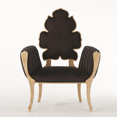Global Views Wiggle Chair - Black