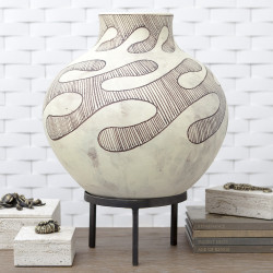 Studio A Anasazi Vessel on Stand