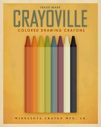Art Classics Crayoville Yellow