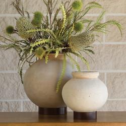 Studio A Desert Water Pot w/Iron Base - XL