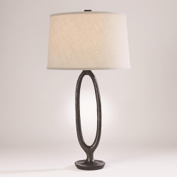 Studio A Ellipse Table Lamp - Bronze