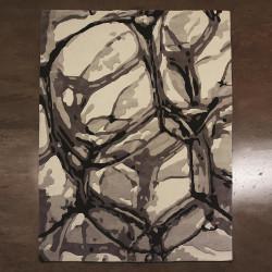Studio A Eyes On The World Rug - Ivory/Black - 5 x 8