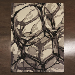 Studio A Eyes On The World Rug - Ivory/Black - 6 x 9