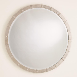 Galleon Mirror - Nickel - Lg
