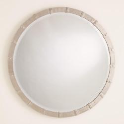 Galleon Mirror - Nickel - Sm