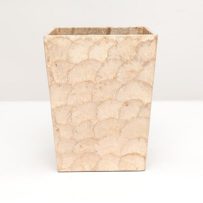 Pigeon & Poodle Andria Waste Basket - Smoked - Square