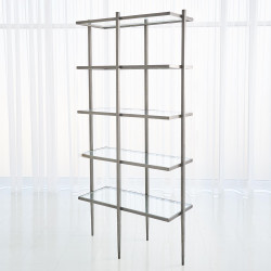 Studio A Laforge Etagere - Natural Iron