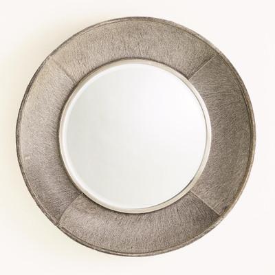 Studio A Metro Round Mirror - Grey Hair - on - Hide